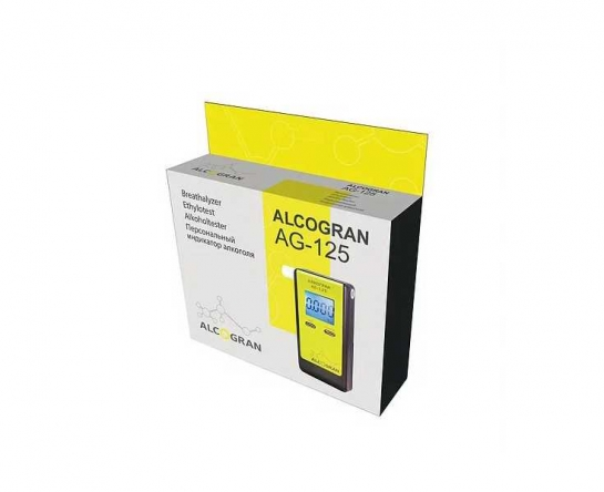 Алкотестер персональный Алкогран AG-125
