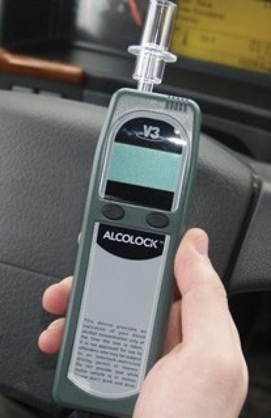 Алкозамок (алкоблокиратор) блокировки зажигания Alcolock V3