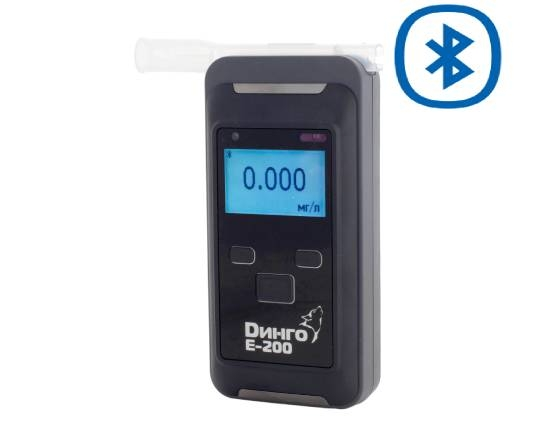 Алкотестер профессиональный Динго E-200(B) с Bluetooth и принтером