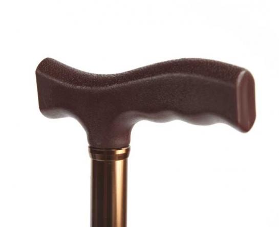 Трость с Т-образной ручкой C Standart с выдвижным устройством против скольжения