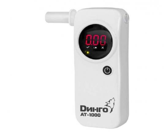 Алкотестер персональный Динго AT-1000 (белый)